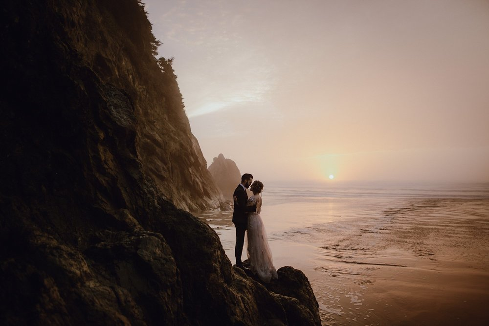 A wedding at the Oregon Coast by Catalina Jean Photography Portland Wedding Photographer