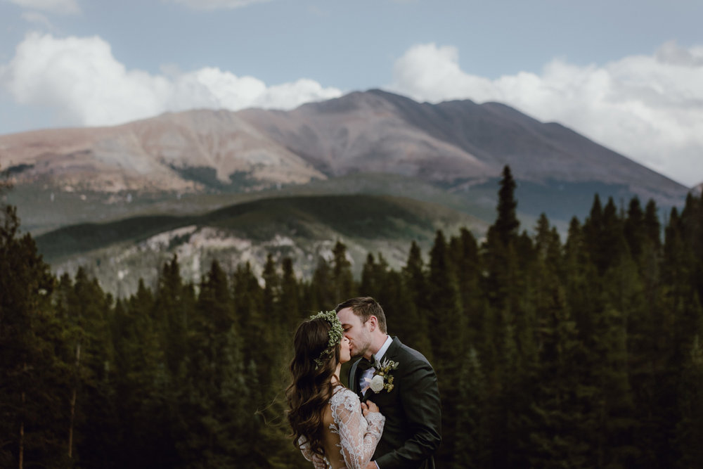 Colorado Mountains Wedding Amy + Cameron View Post