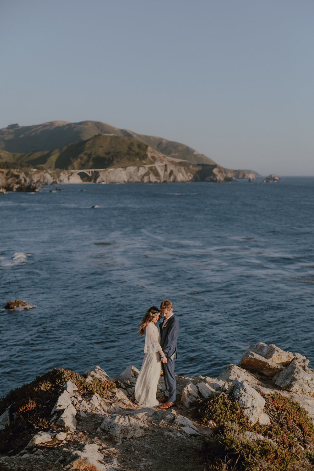 Big Sur Cliffs Wedding    Siobhan + Ken    View Post