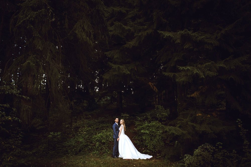 Portland, oregon - Downtown cityscapes, deep forests, and all the food you can eat - with a ton of amazing spots for an elopement.