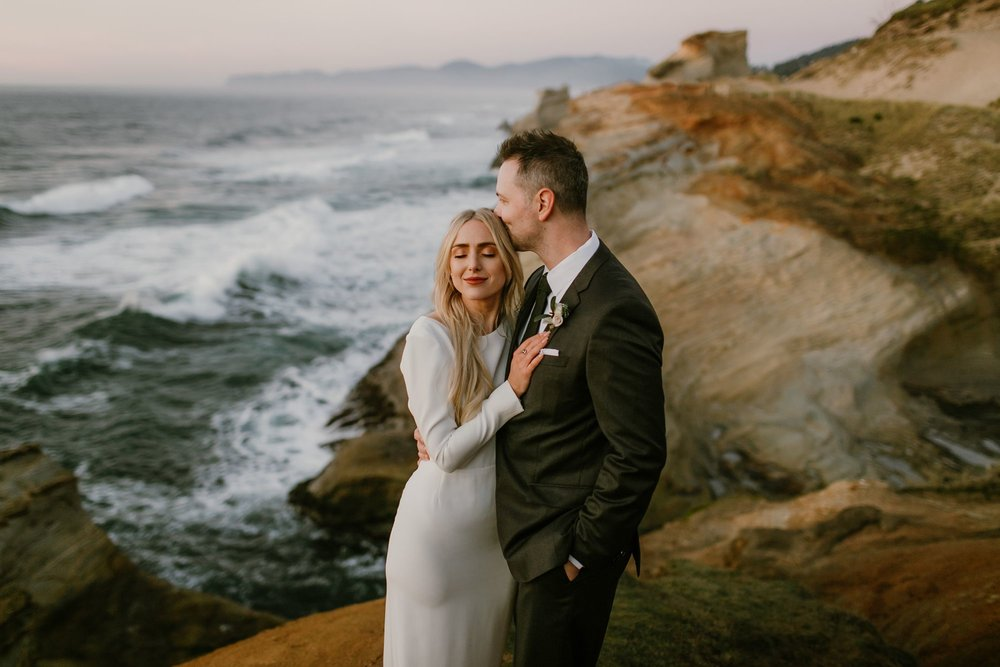 Elopement at the Oregon Coast