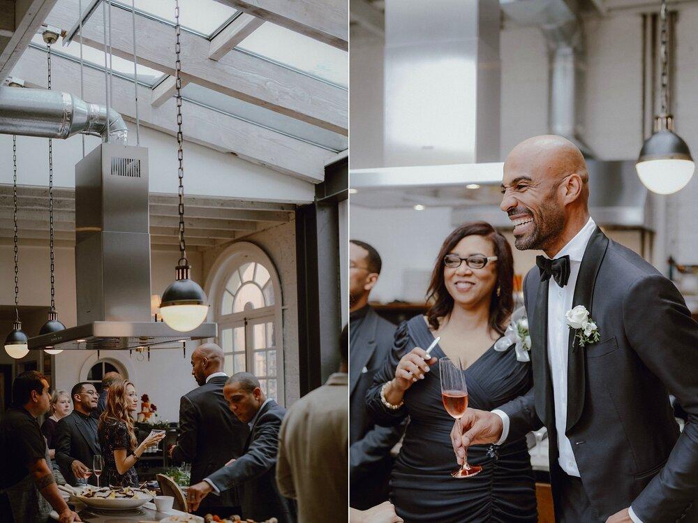 Cookhouse San Francisco wedding reception