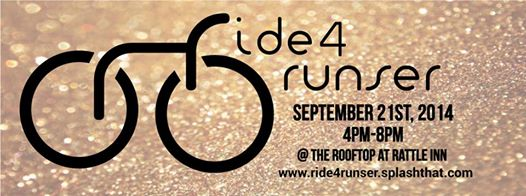http://ride4runser.splashthat.com/ C'mon let's #sweatgold #ride4runser