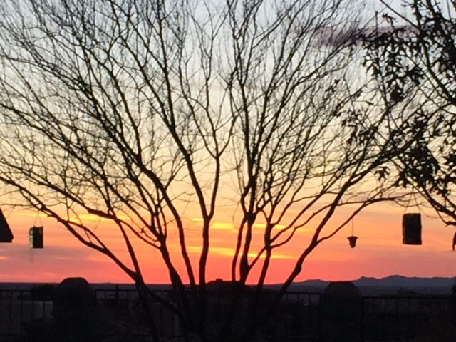 Photo by Dad. I sure miss those El Paso sunsets!
