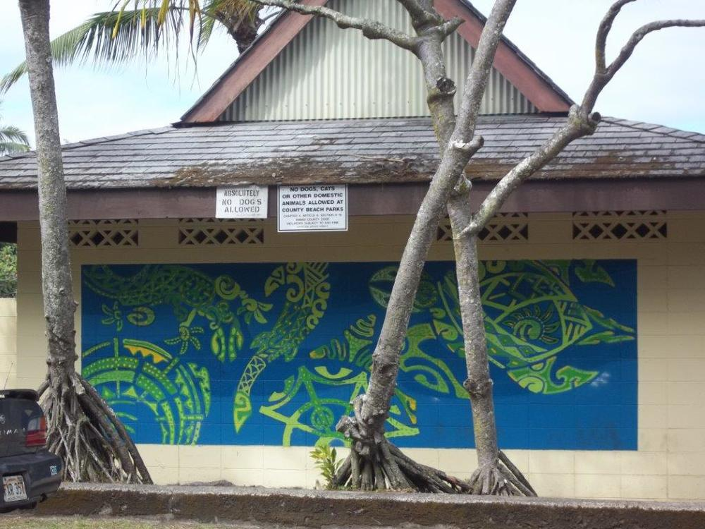 2010 Mural Project at Leleiwi Beach Park