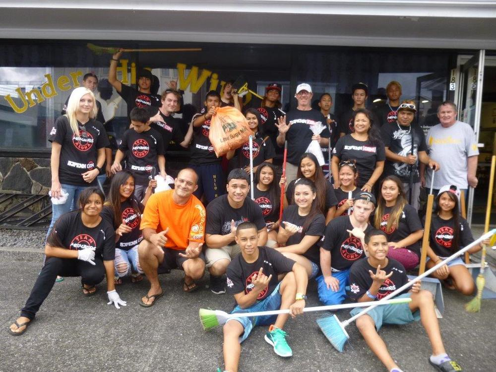 2013 Clean Up the Streets of Downtown Hilo