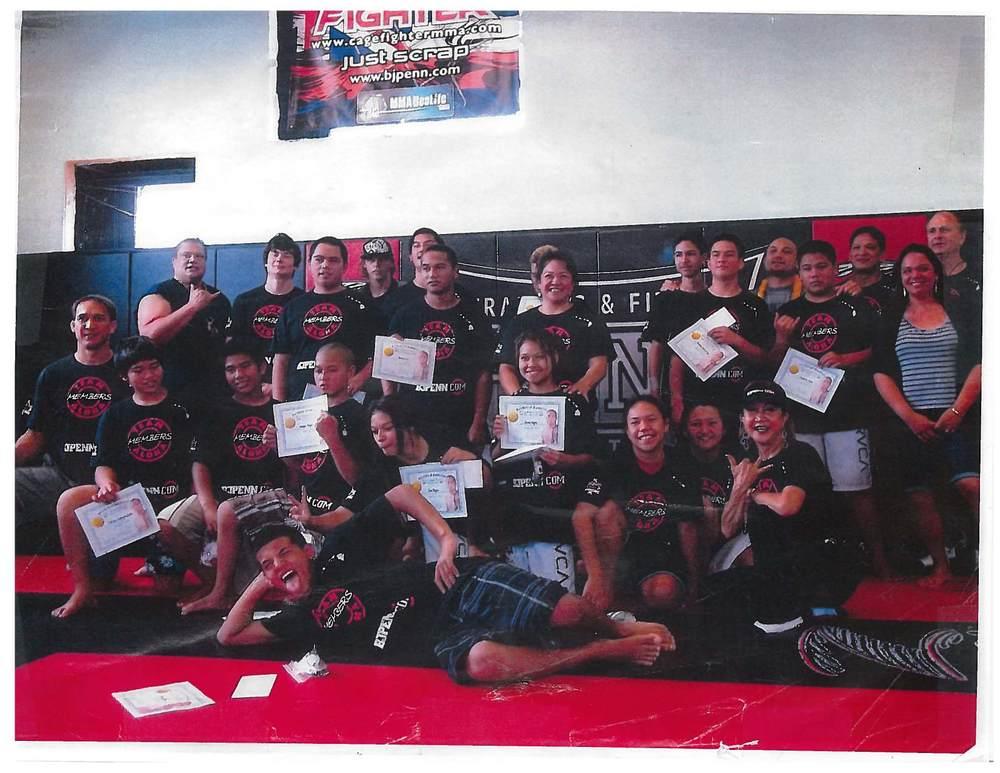 PHYF 2012 Class