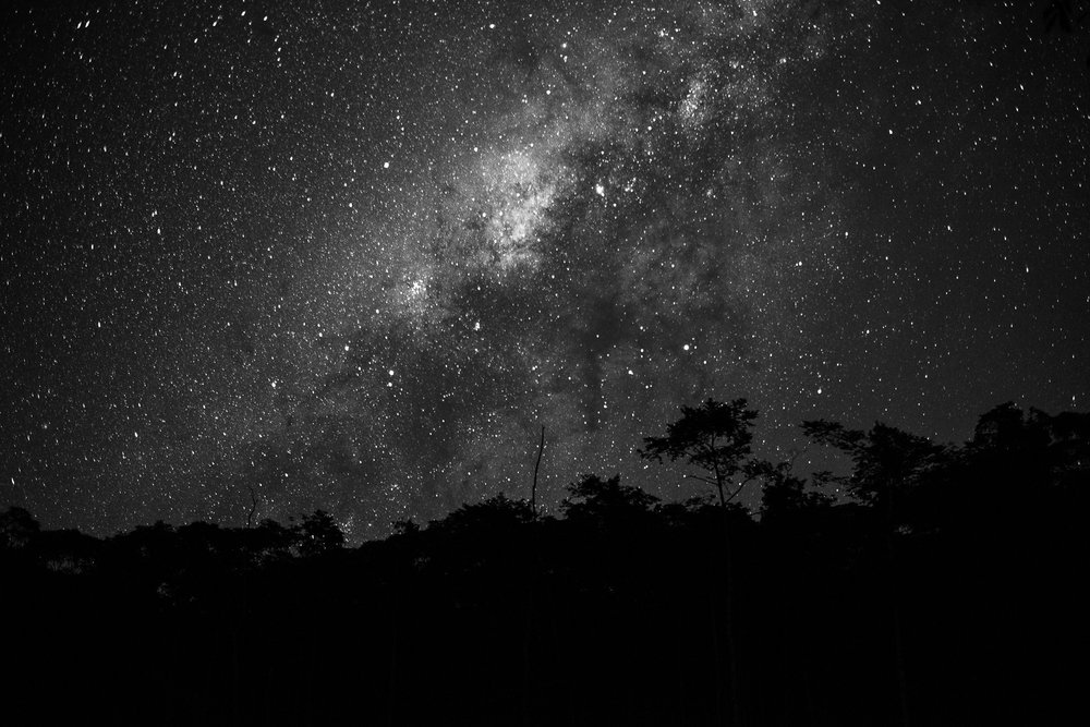 Night sky / Zabalo, Ecuador