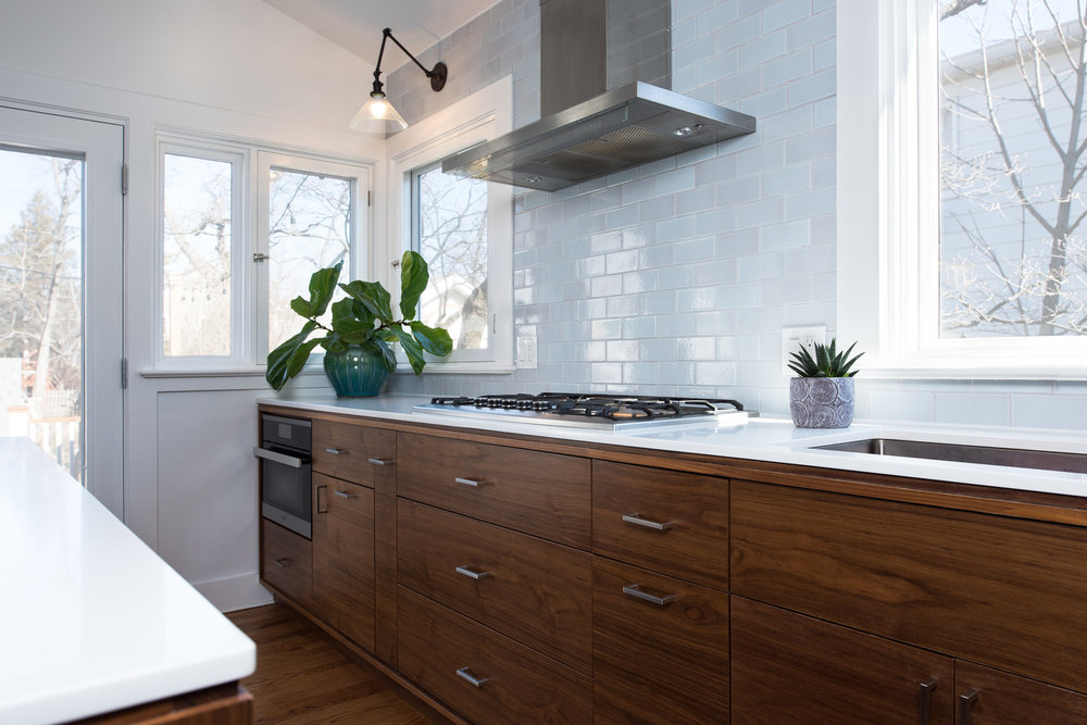 Rustic Modern Renovation - view -