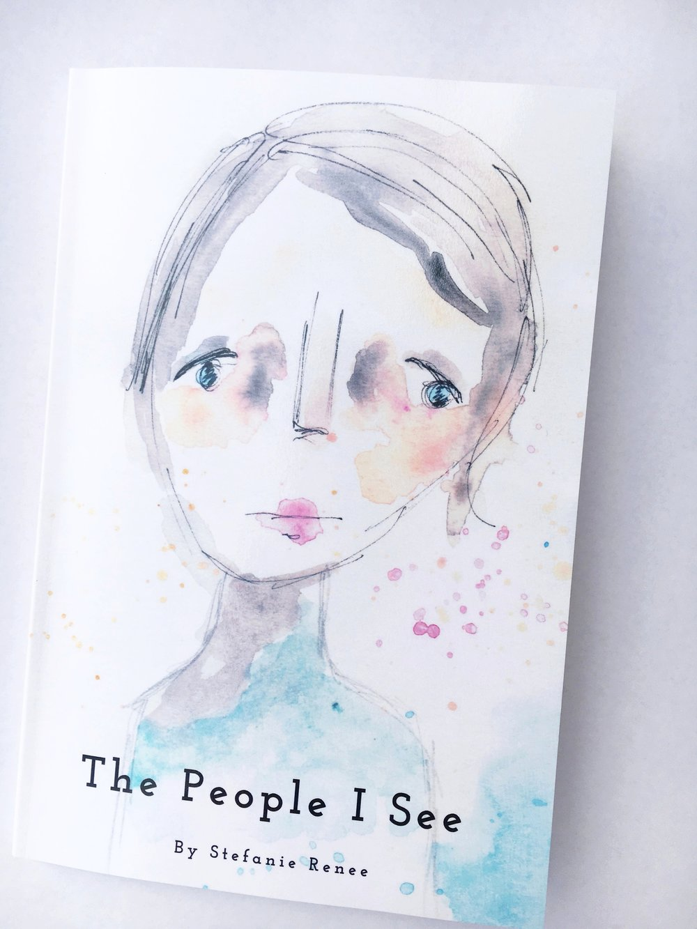 The People I See - A collection of Stef Scribbles from 2014 - 2017The people within these pages are a select few from my daily creative practice project #stefscribbles that started in 2014 on Instagram. I would sketch, add watercolors and eventually name and create stories around them. They are inspired by the people and experiences I witness throughout my days and my imagination.• Pre-order: $20.00 + shipping• 6x9 softcover, 44 pages*If you're outside of the US and would like to order please email me at stefanie@stefanierenee.net and we'll work out the shipping.