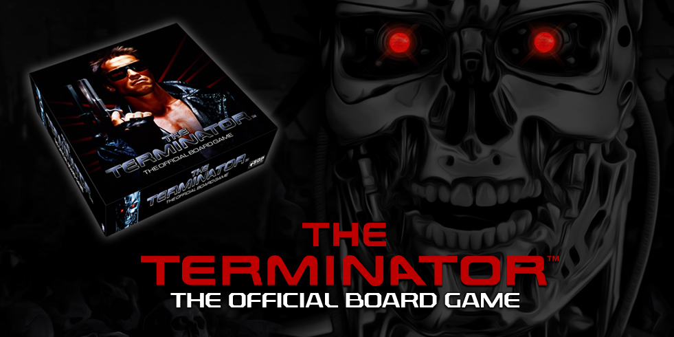 This is a facebook promo for The Terminator Board Game