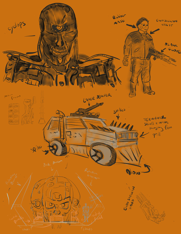 Sketches for new concepts