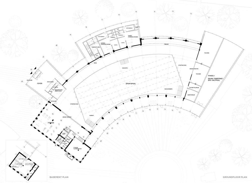 Groundfloor plan, Lokschuppen 2