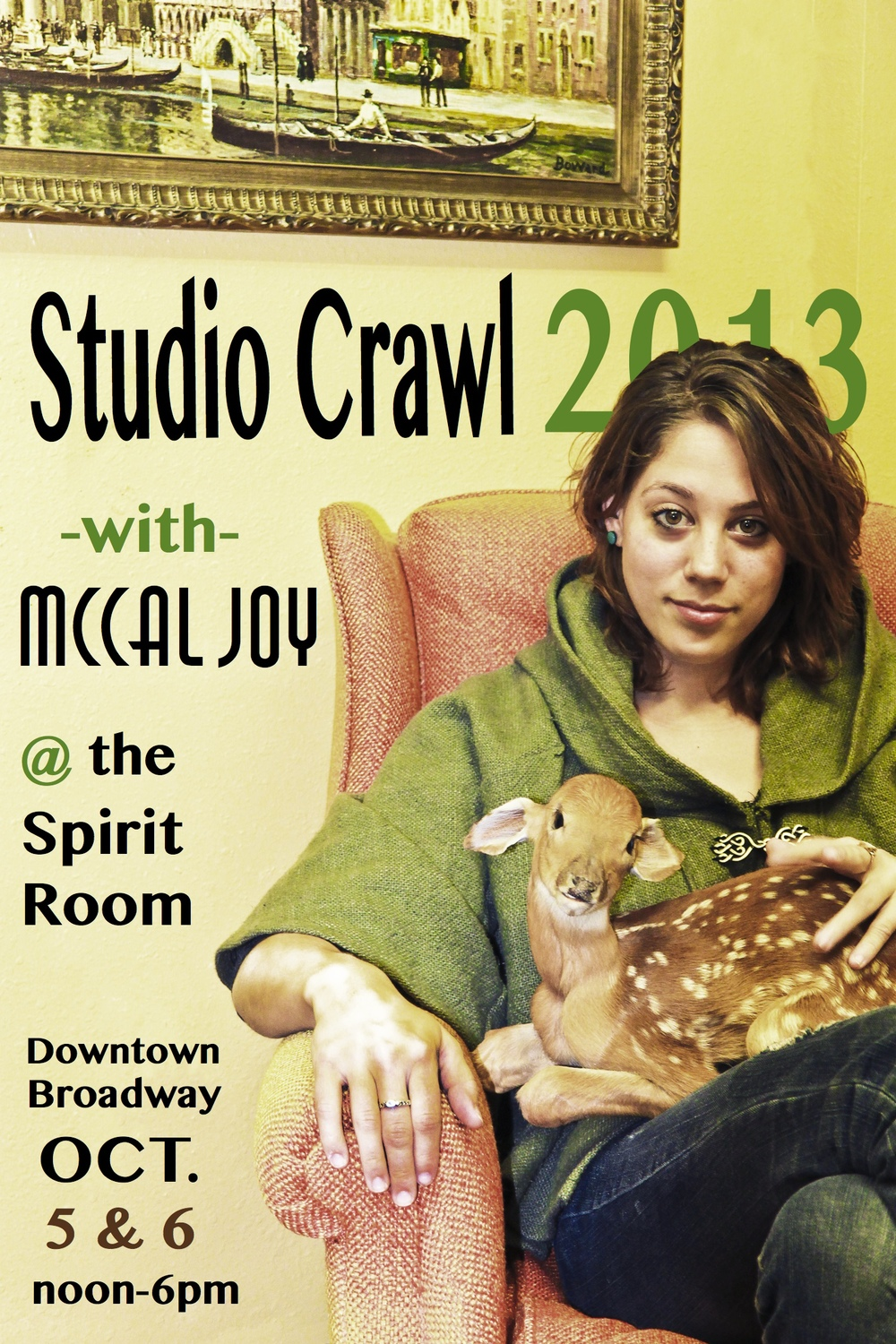 Studio Crawl 2013 - Spirit Room Studios - October 5th