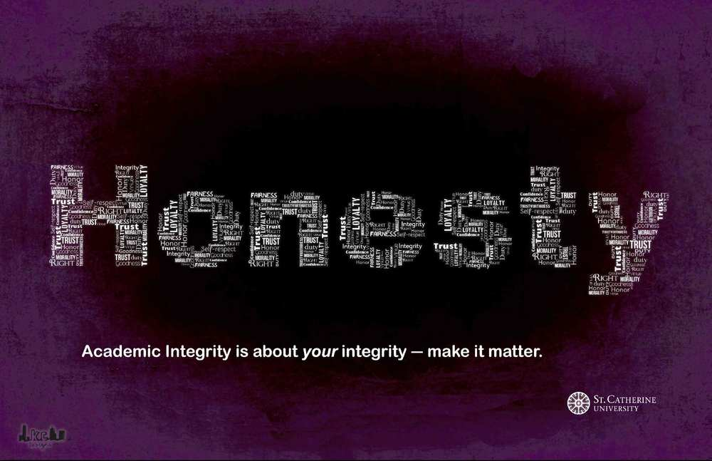 Academic Integrity Campaign Poster