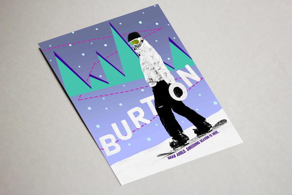 Snowboard Advertisement
