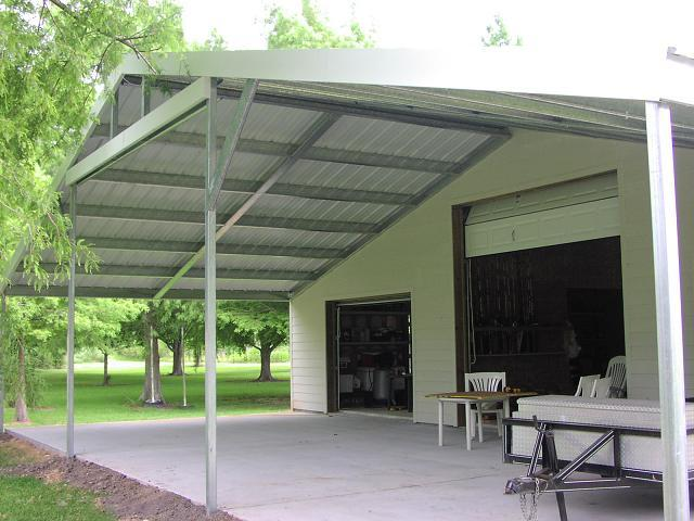 Carports, Patios, and Custom Work — Allsteel Construction