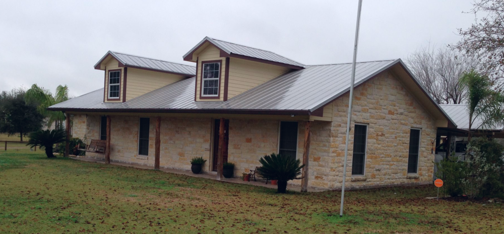 Metal Roofs Maintain Their Appearance And Integrity For Years: This Photo  Was Taken 7 Years