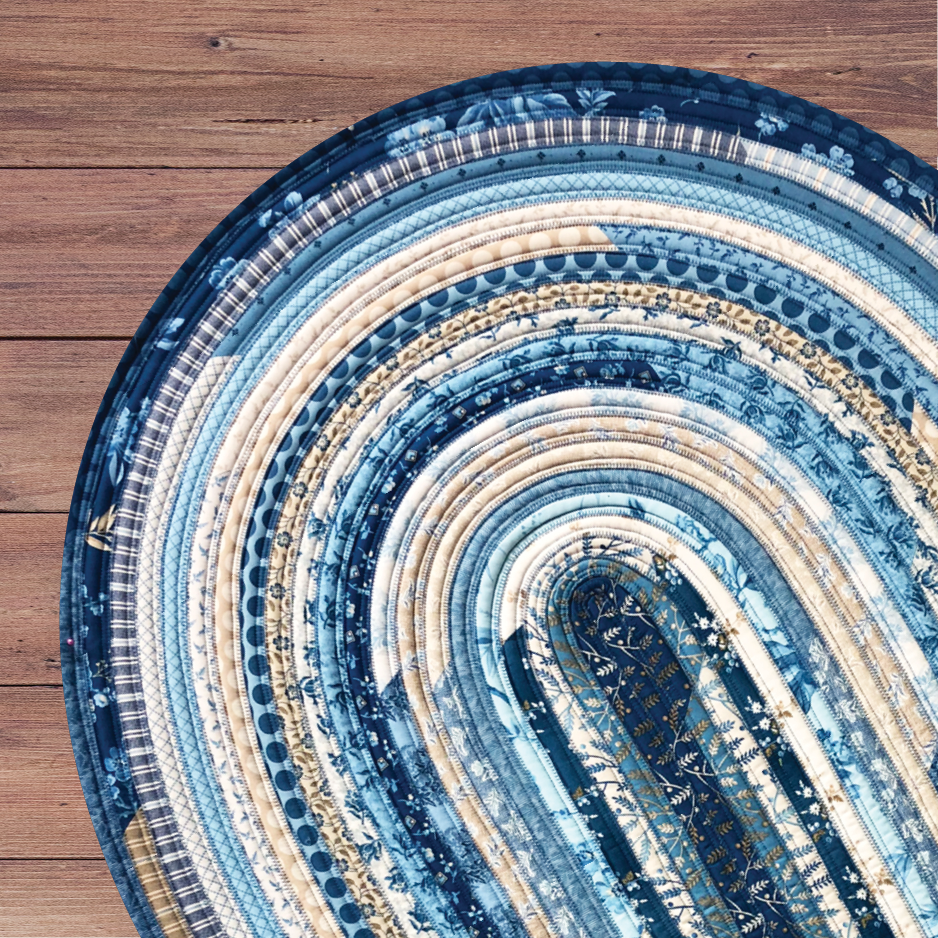 Quilted Angel Jelly Roll Rug