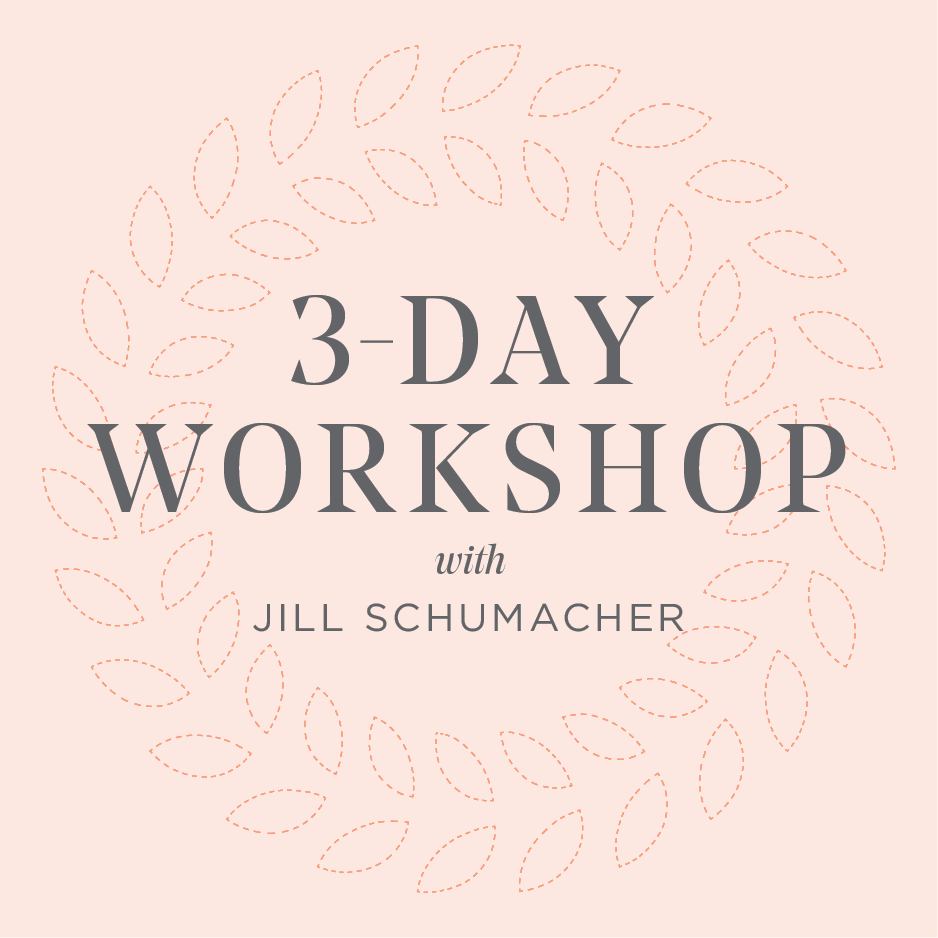 3-Day Workshop with Jill Schumacher