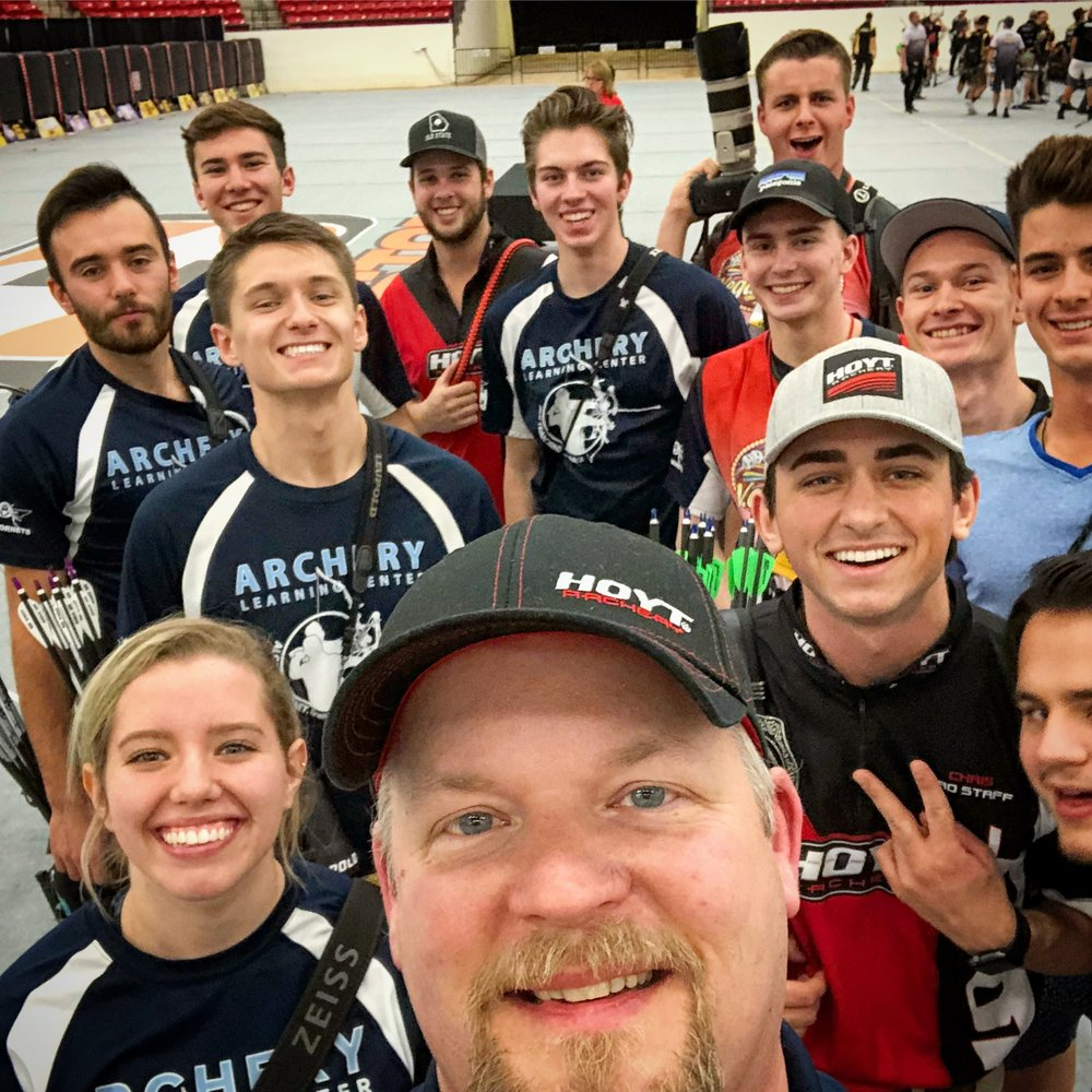 I coach the coolest gang in archery and I LOVE every minute of it. These awesome people make my job amazing and fulfilling.