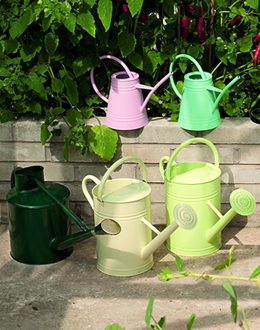Multicolore Tin Watering Cans