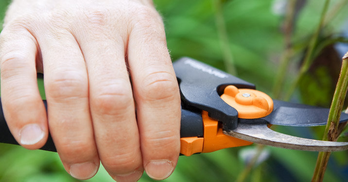 Fiskars Easy Grip Bypass Pruner