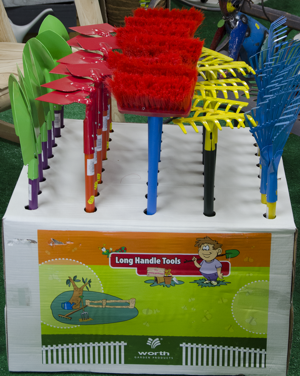 Long Handle Kid's Gardening Tools