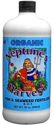 Neptune's Harvest Fish and Seaweed Fertilizer