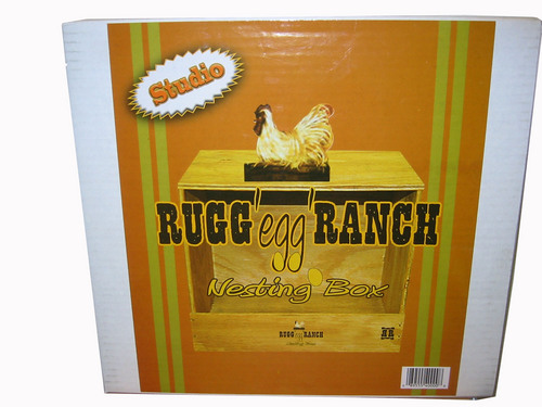 Rugg Egg Ranch Nesting Box
