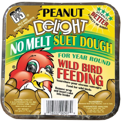 C and S Delight Peanut No Melt Suet Dough