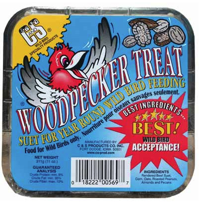 C and S Woodpecker Treat Suet