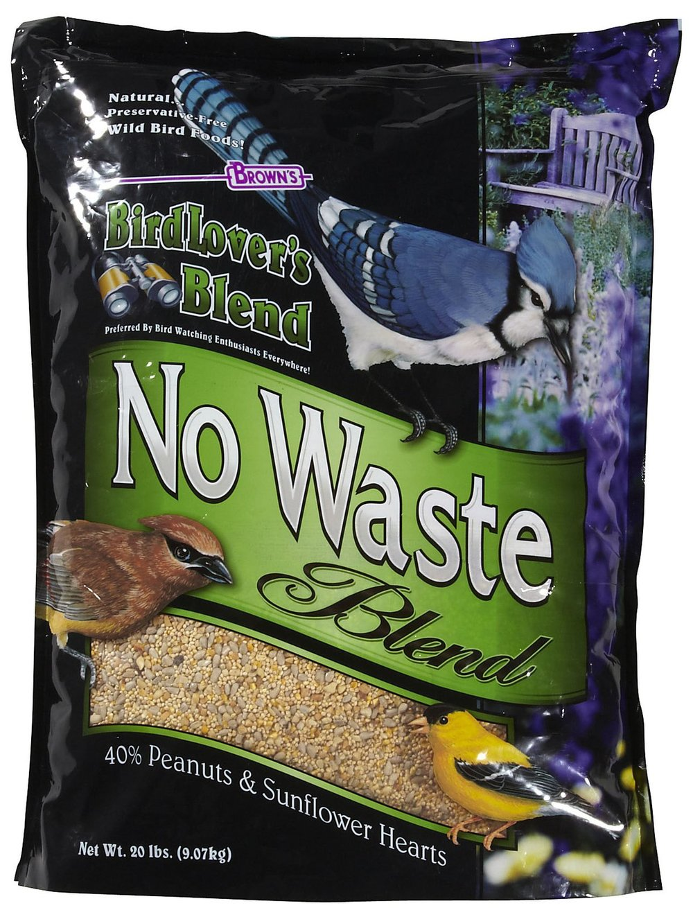 Brown's Bird Lover's Blend No Waste Blend