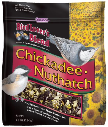 Brown's Bird Lover's Blend Chickadee and Nuthatch