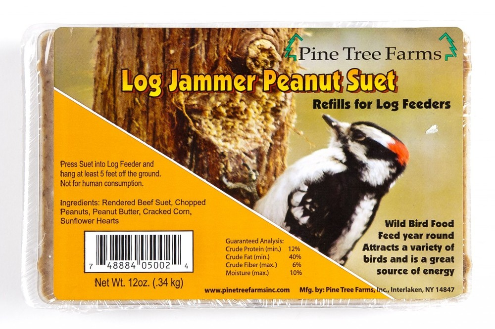 Pine Tree Farms Log Jammer Peanut Suet