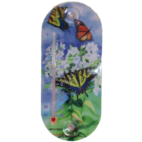 Butterfly Print Thermometer