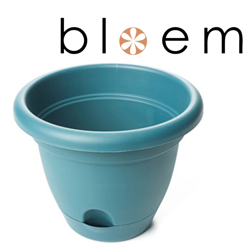 Bloem Lucca Self Watering Planter in Turbulent