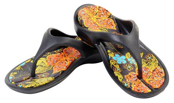 Black SLOGGER Sandals