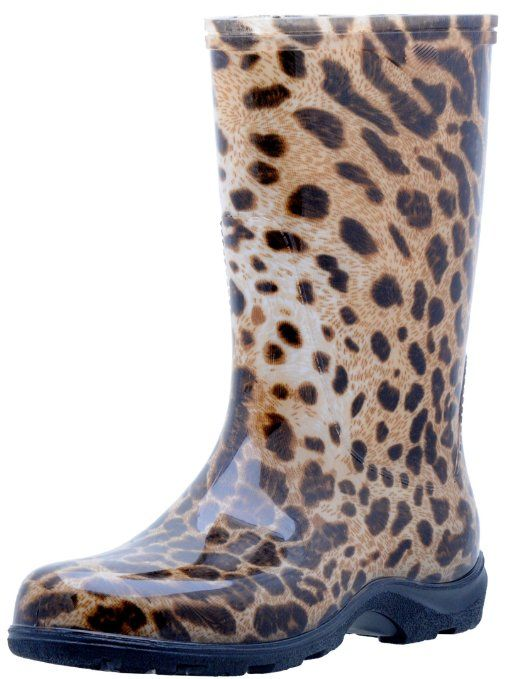 Leopard SLOGGERS Boots