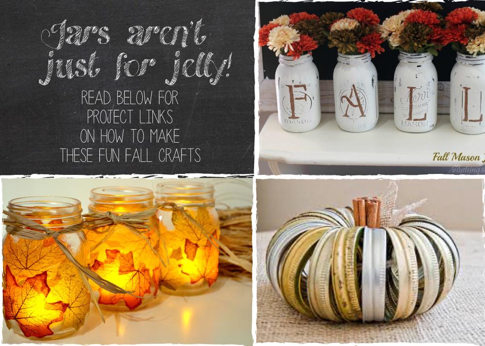 Fun Fall Mason Jar Crafts Jamestown Feed And Seed