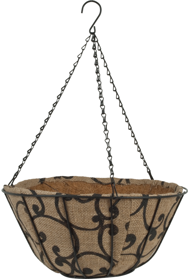 14″ Jute AquaSav™ Hanging Basket Scrolls.jpg