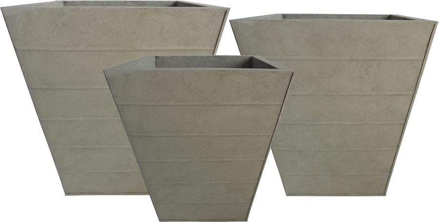 Taupe Tin Patio Planters.jpg