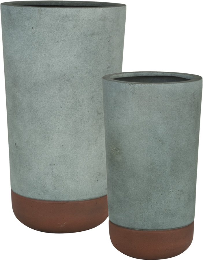 vassos round planter concrete and rust.jpg