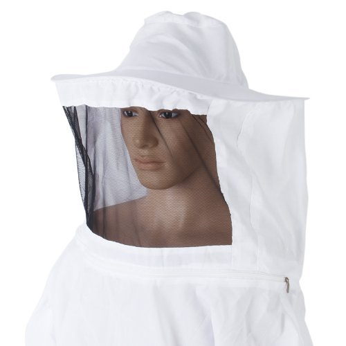 Beekeeping Veil with Hat White.jpg