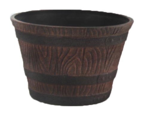 mini oak plastic whiskey barrel.png
