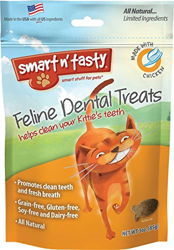 Smart n' Tasty Cat Chicken Dental Grain Free Treats.jpg