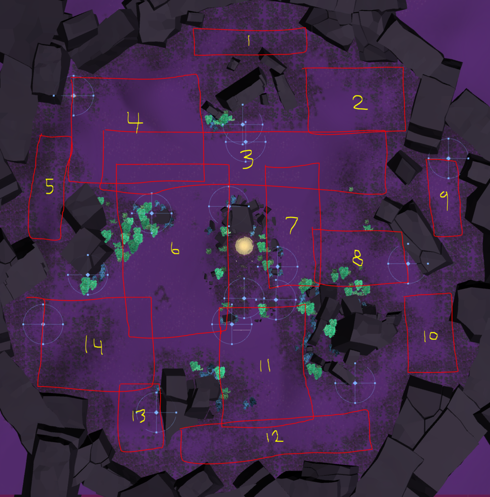 Fig.01  - Mapping drop zones