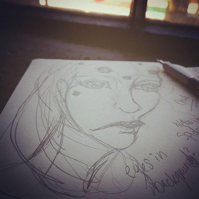 Sketchbook brainstorm. #artofinstagram #sketch #art #artsy #drawing #idea