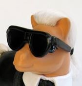 See? The arms of Karl's glasses just sit naturally at the base of his ears!