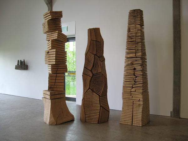 Mini sculpture gallery; chapter 2 dioramas My Little I M Pei  ~ Mini Tour A Bois Maquette